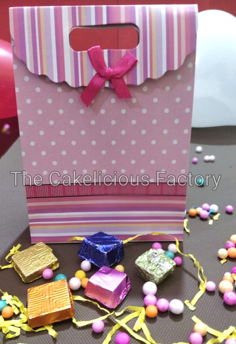 Assorted Gift Pack of Thirty Chocolates - Carry bag Style 2