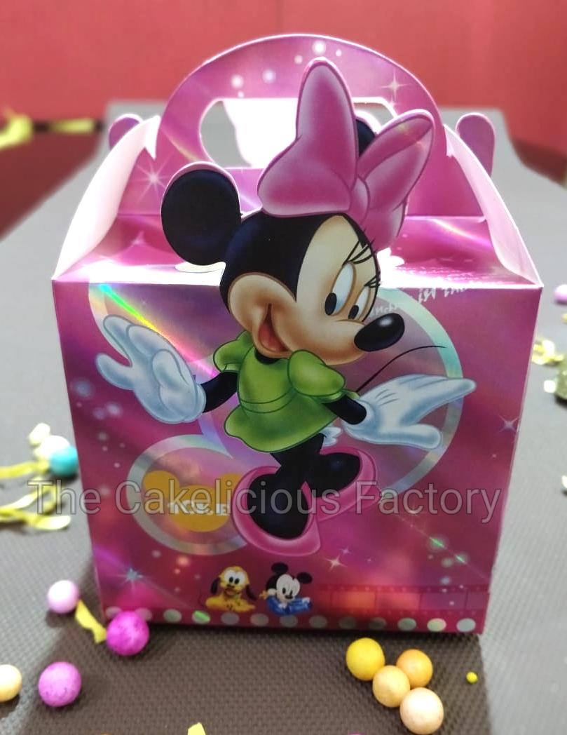 Minnie Mouse Theme Chocolate Box