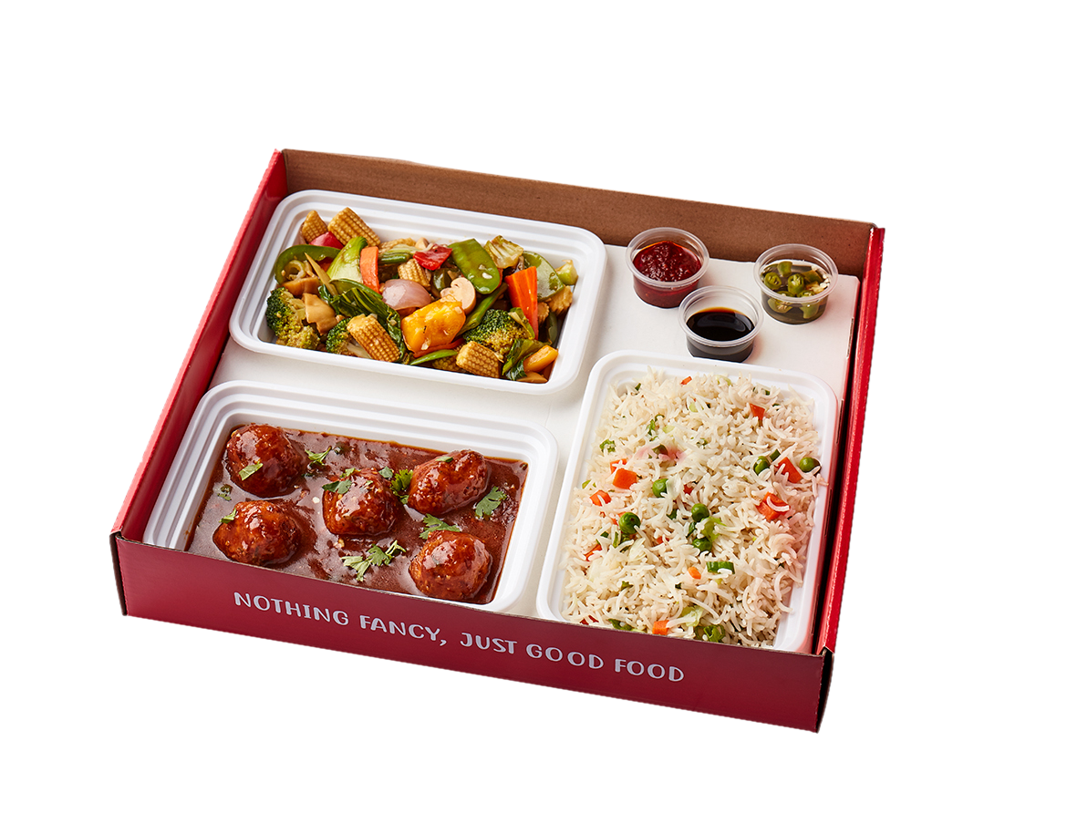 Chinese Vegetable Meal Box