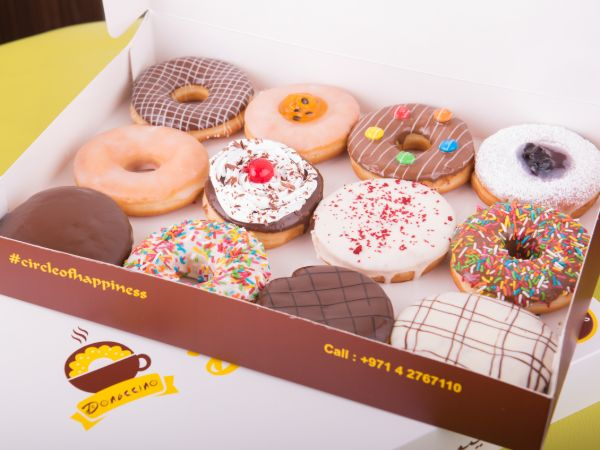 1 Dozen Assorted Donut Box