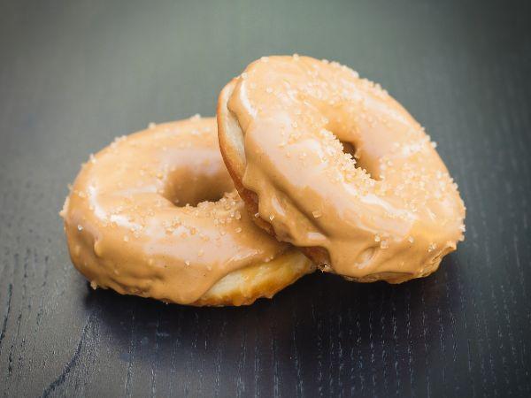 Vegan Peanut Butter Donut