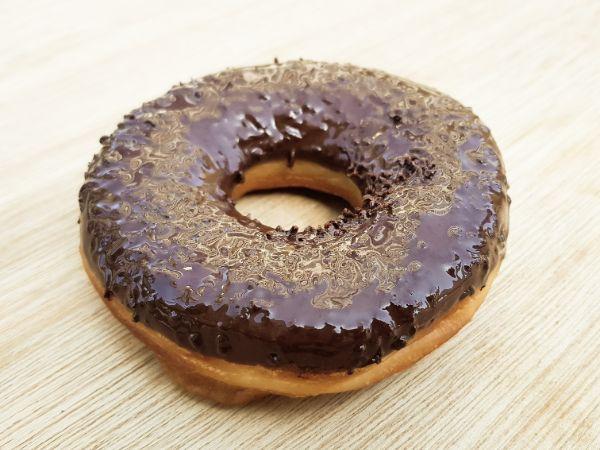 Vegan Choco Ring Donut