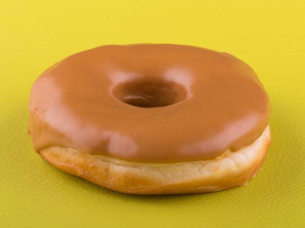 Vegan Lotus Biscoff Donut