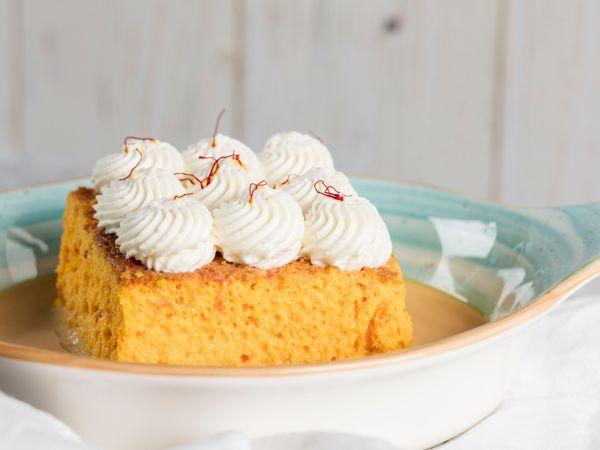 Saffron Sukkar Milk Cake