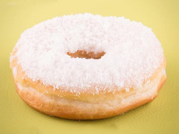 Vegan Coconut Glaze Donut