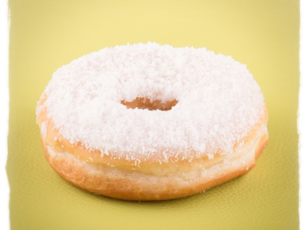 Coconuts Glaze Donut