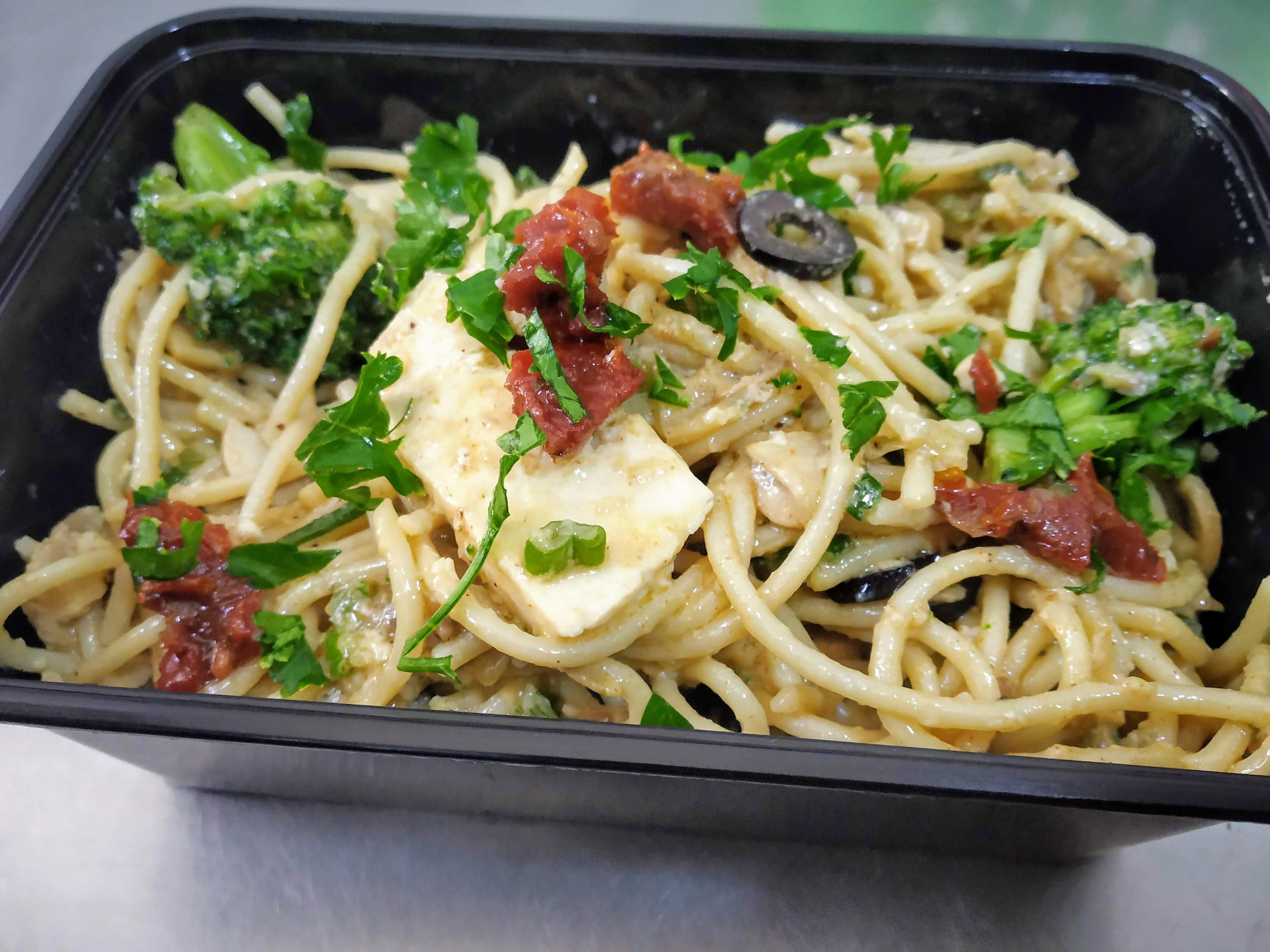 Tofu &  Egg  Spaghetti