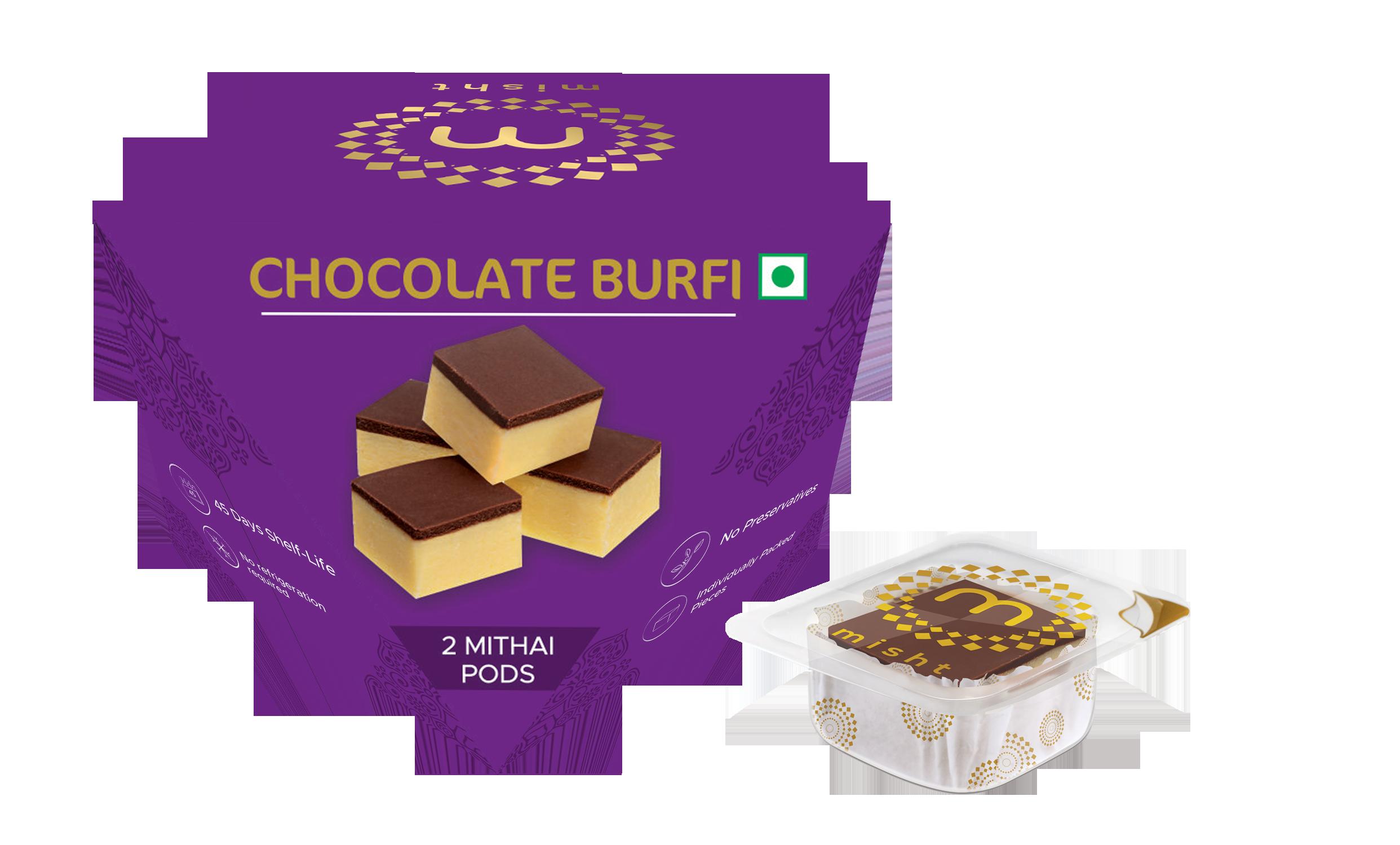 Chocolate Burfi [2 PODS]