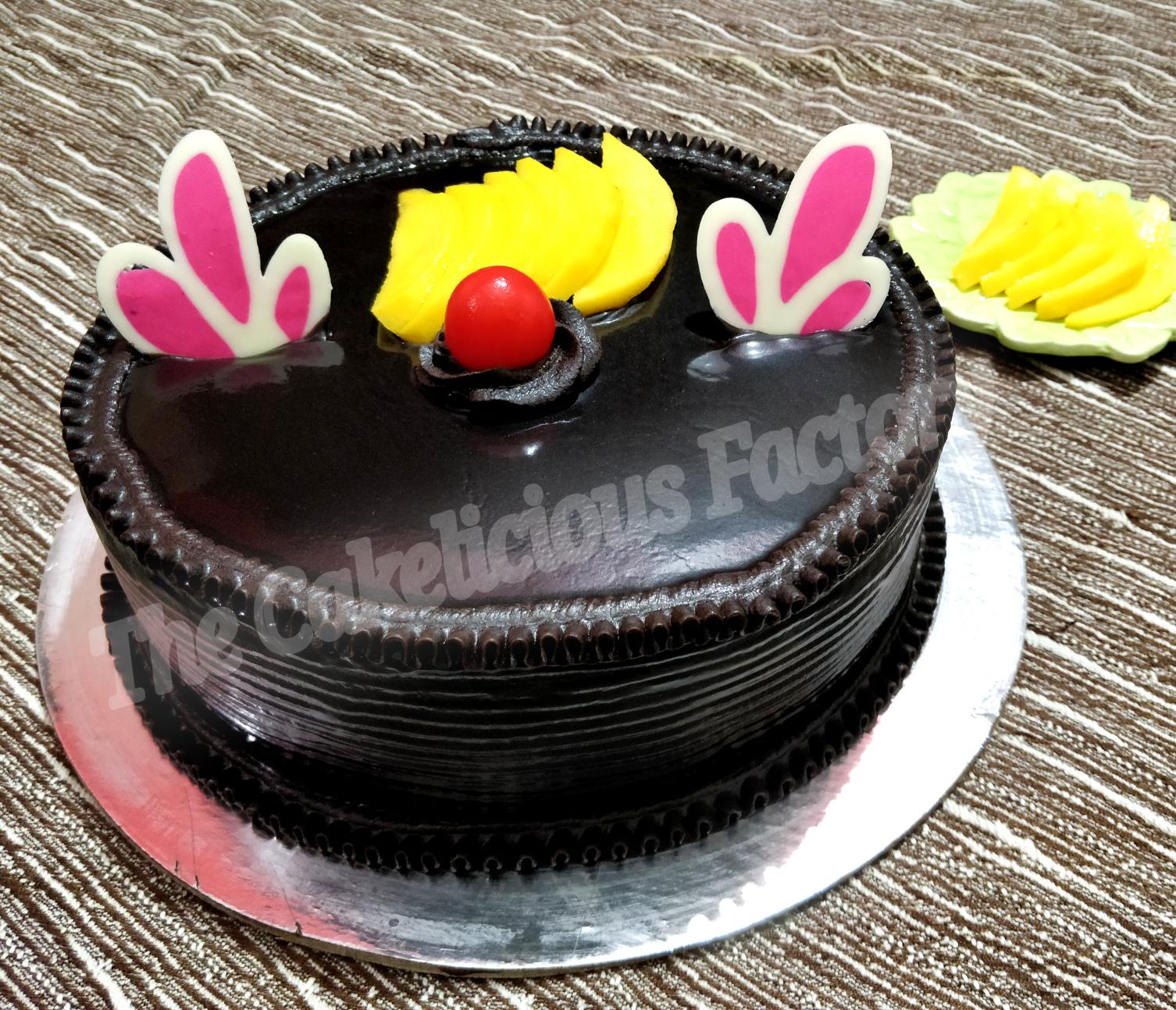 Mango Chocolate Romance Cake