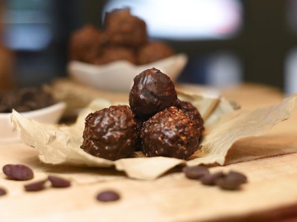 Caramel truffle