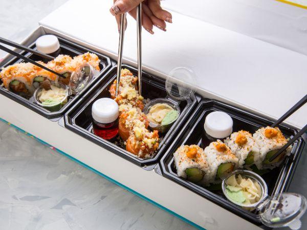 Sushi Triple Box