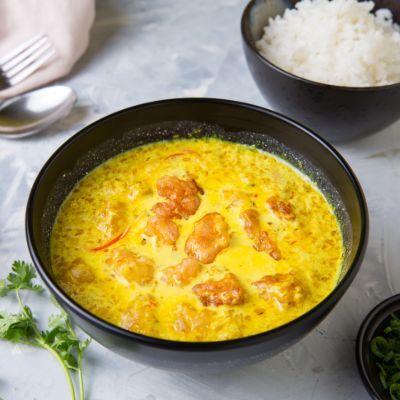 Hot Yellow Curry Rock Shrimp