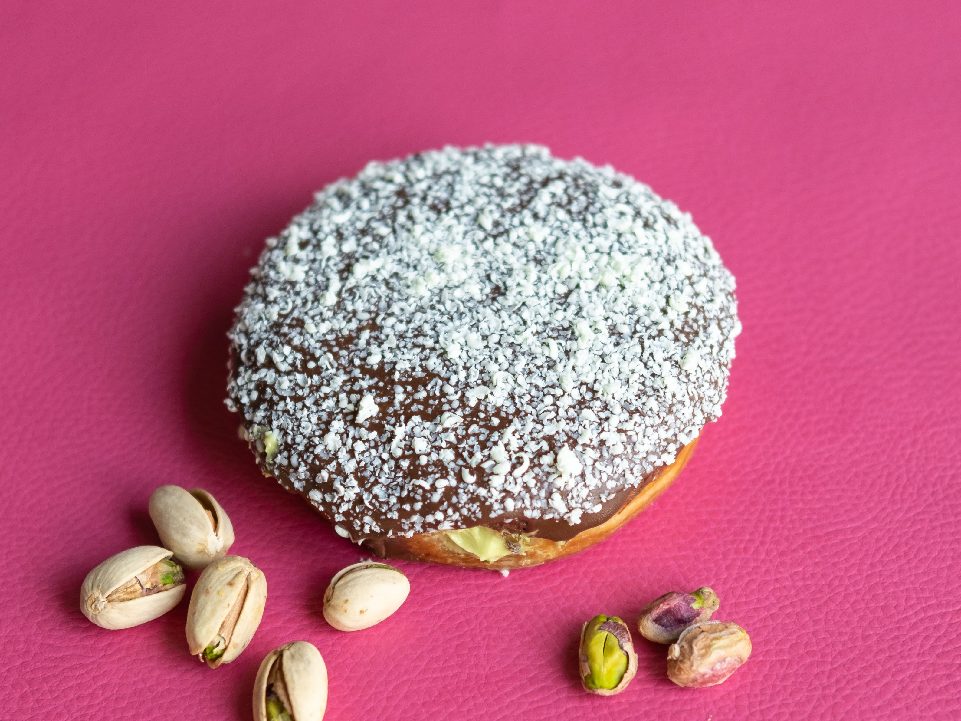 Choco Pistachio Donut