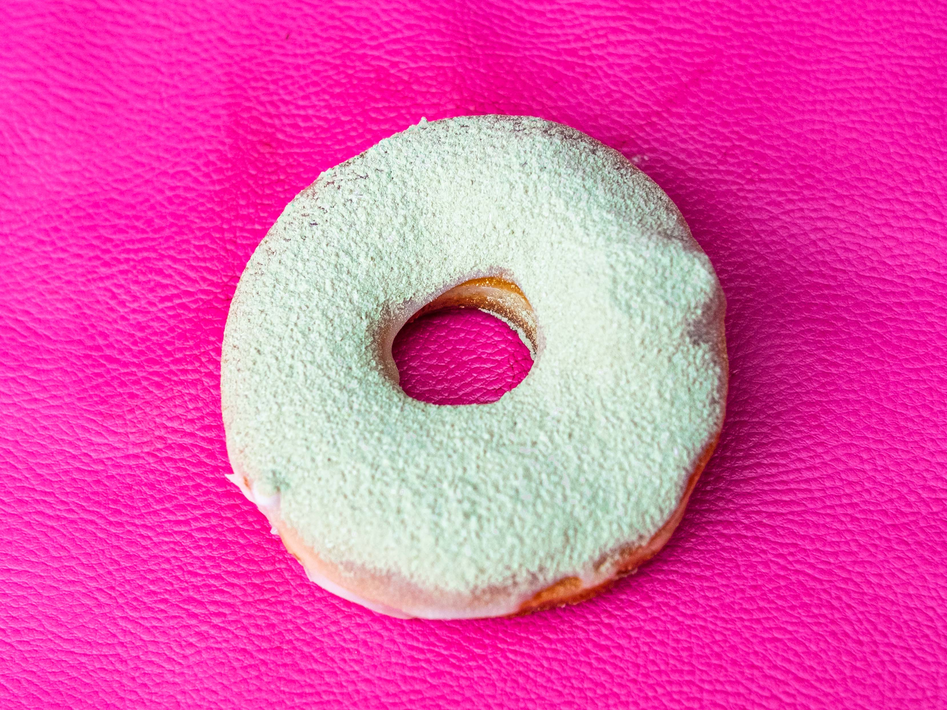Vegan Matcha Donut