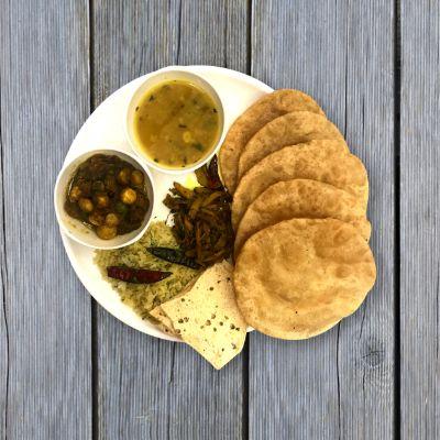 Kesariya Thali