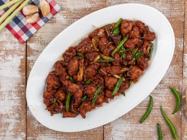 Chicken Chilli - Dry
