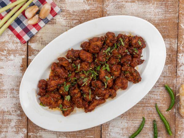 Chicken Manchurian - Dry