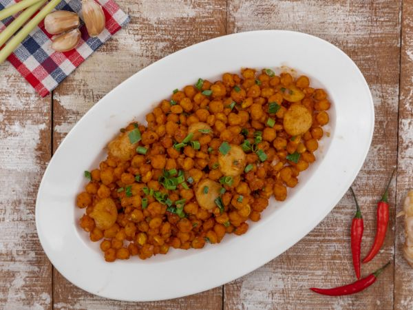 Crispy Corn with Waterchestnut