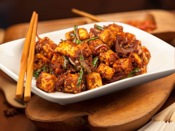 Paneer Chilly - Dry
