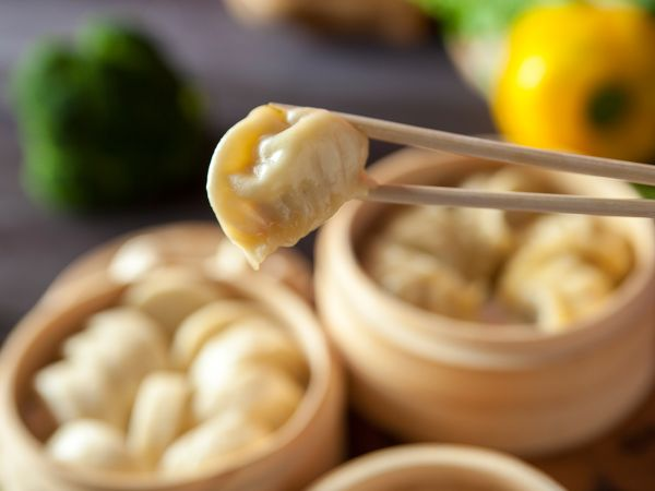 Vegetable Dumpling - Steamed