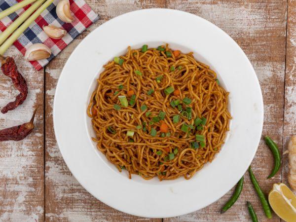 Vegetable Dan Mien Noodle
