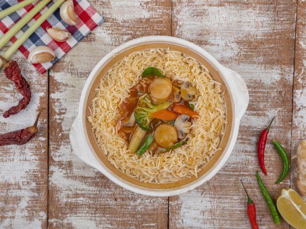 Vegetable Lemon Pot Rice