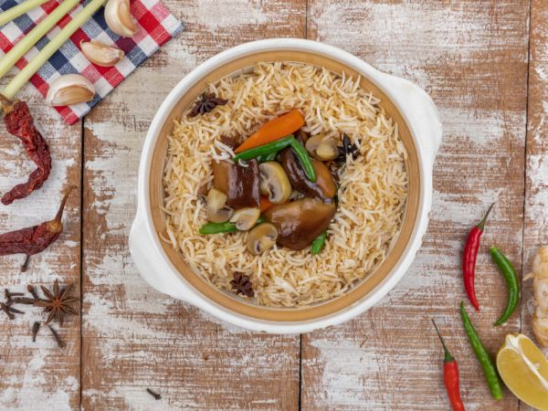 Vegetable Baby Pot Rice