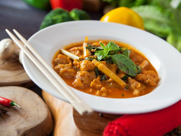 Chicken Thai Curry - Red