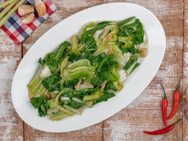 Stir Fried Chinese Greens