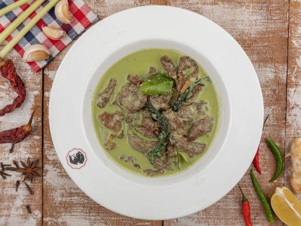 Tenderloin Thai Curry - Green