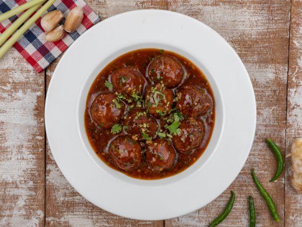 Vegetable Manchurian Sauce