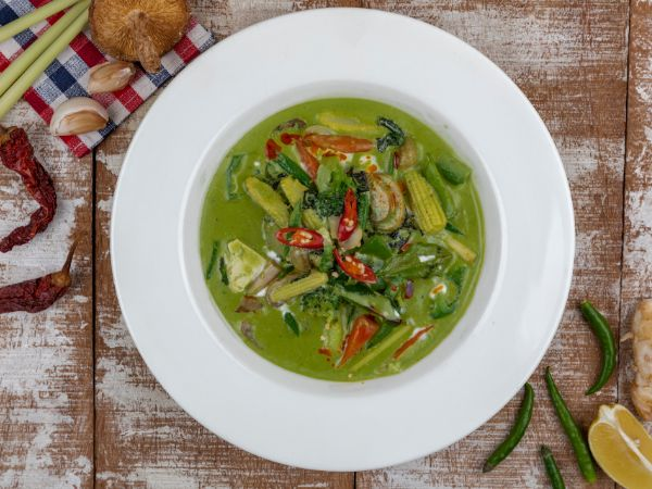Vegetable Thai Curry - Green