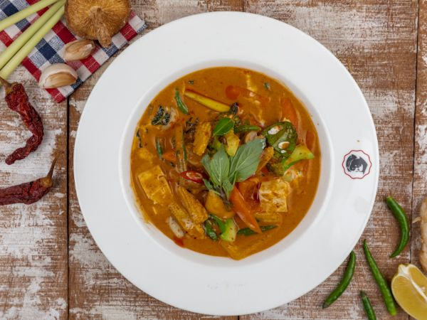 Vegetable Thai Curry - Red