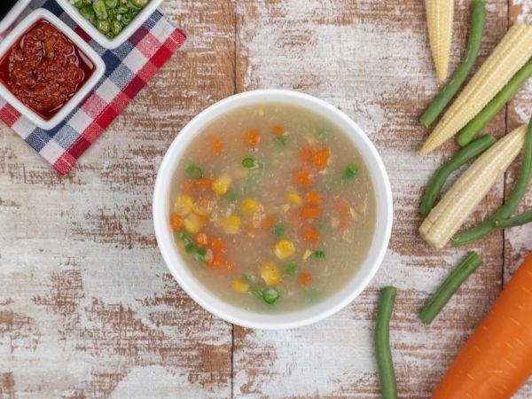 Seafood Sweet Corn Soup