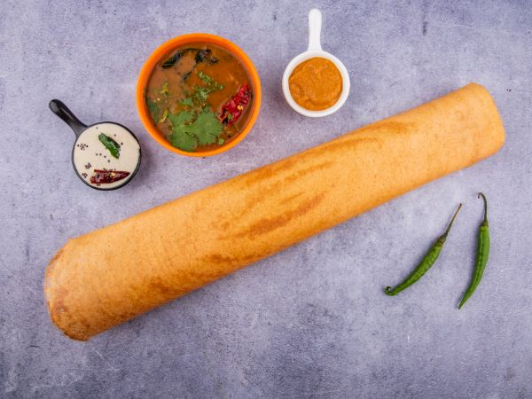 Butter Plain Dosa