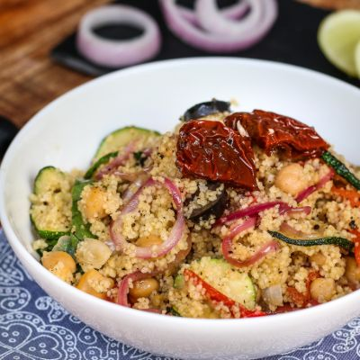 Roasted Pepper Couscous