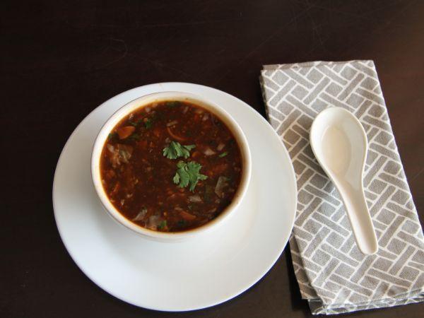 Classic Manchow Soup