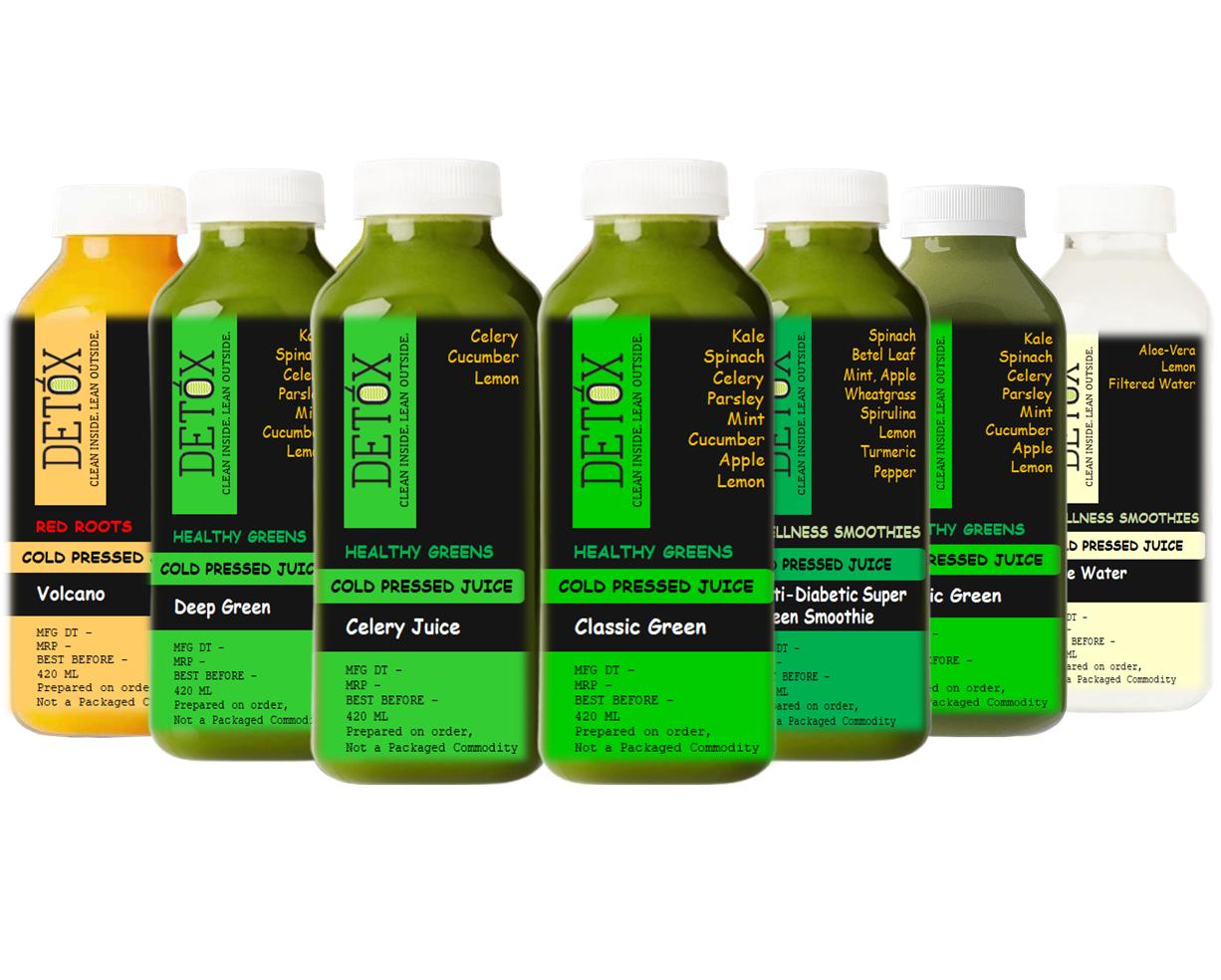 ADVANCED LOW SUGAR CLEANSE (420 ML X 6) - (CELERY JUICE + SUPER GREEN SMOOTHIE +  CLASSIC GREEN X 2 + DEEP GREEN  + VOLCANO ) + 250ML X ALOE WATER