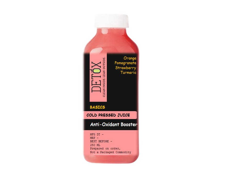 ANTI-OXIDANT BOOSTER - (POMEGRANATE, ORANGE, STRAWBERRY, TURMERIC)