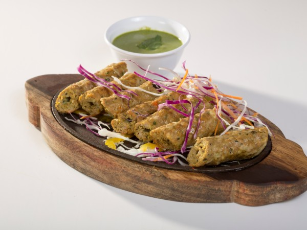 Mutton and Cheese Seekh Kabab