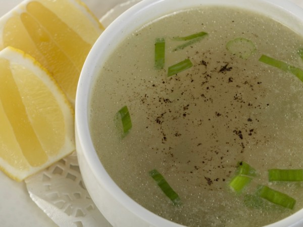 Clear Soup Vegetable