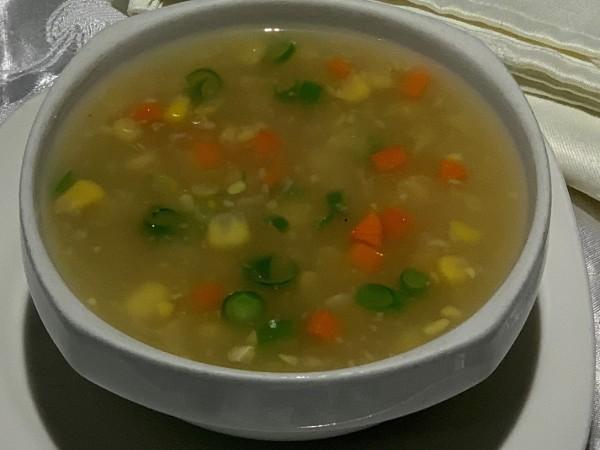 Sweet Corn Soup Vegetable