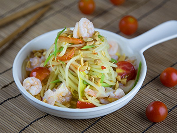 Asia Kitchen Papaya Salad Shrimps