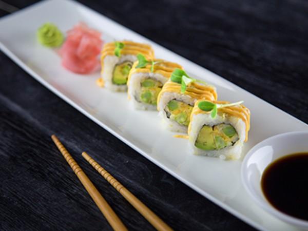 Asparagus Tempura Roll