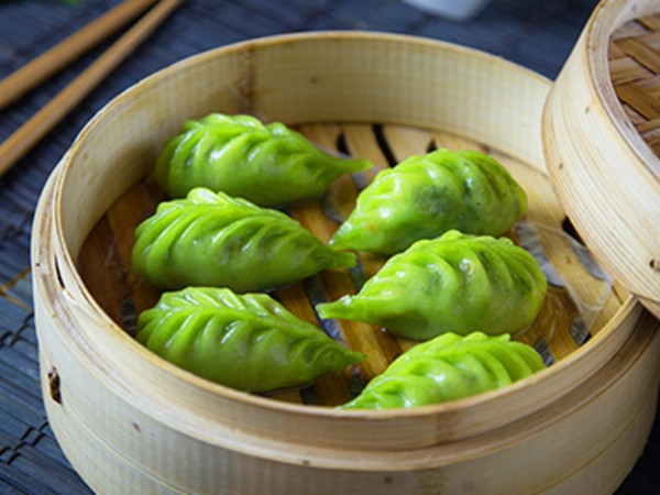 Vegetable Basil Dumplings