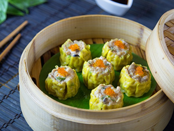 Chicken and Straw Mushroom Siu Mai