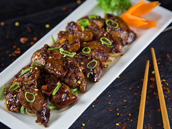 Barbequed Pepper Chicken
