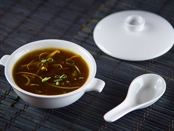 Hot and Sour Soup Vegetable