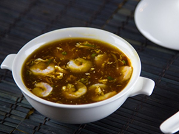 Hot and Sour Soup Prawns