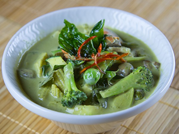 Vegetable in Thai Green Curry